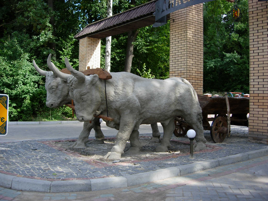 sculpture ox