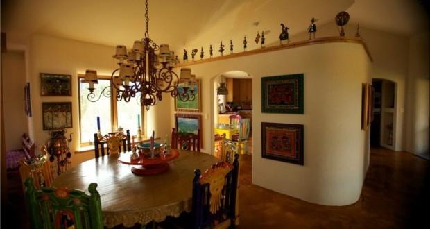 дома из соломы в Украине